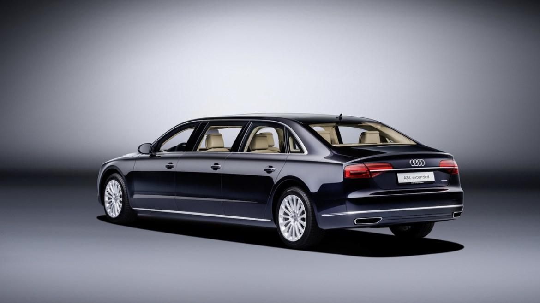 Audi A8 L Extended: Con seis metros de longitud y... ¡seis puertas! 1