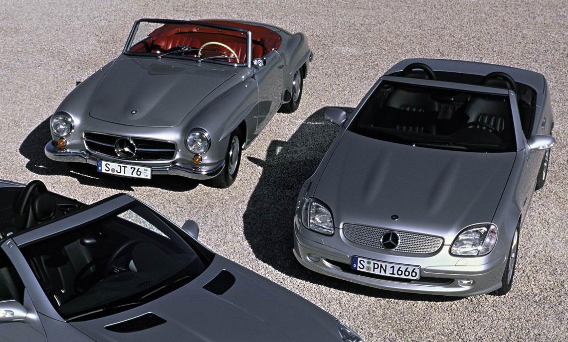 2012 Mercedes-Benz SLK-Class.