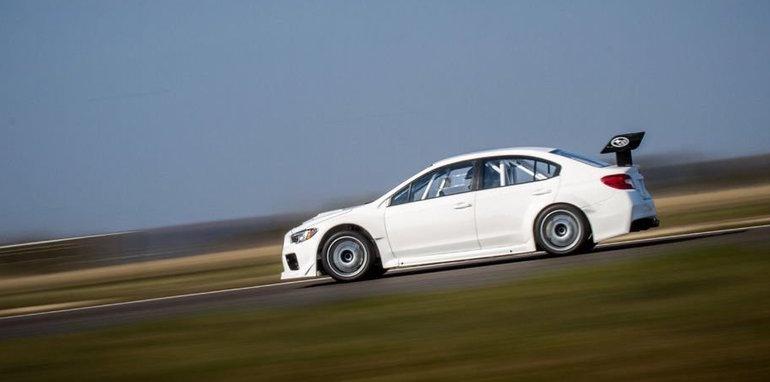 Subaru y Prodrive dan a luz un WRX STI con el que romper récords en la Isla de Man 3