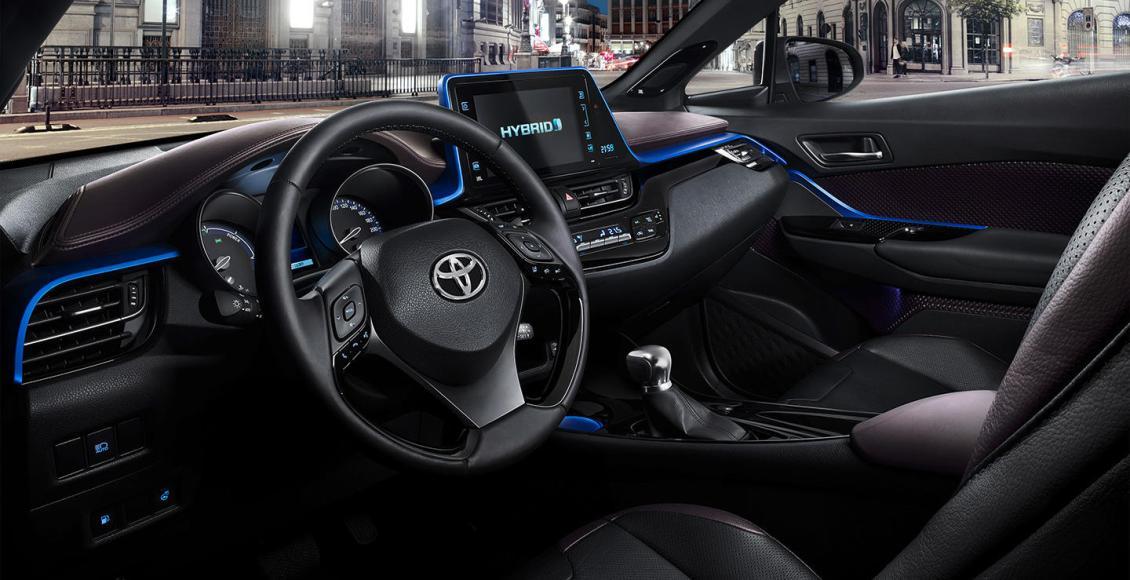 Así es el interior del crossover Toyota C-HR: Una disposición atrevida 2