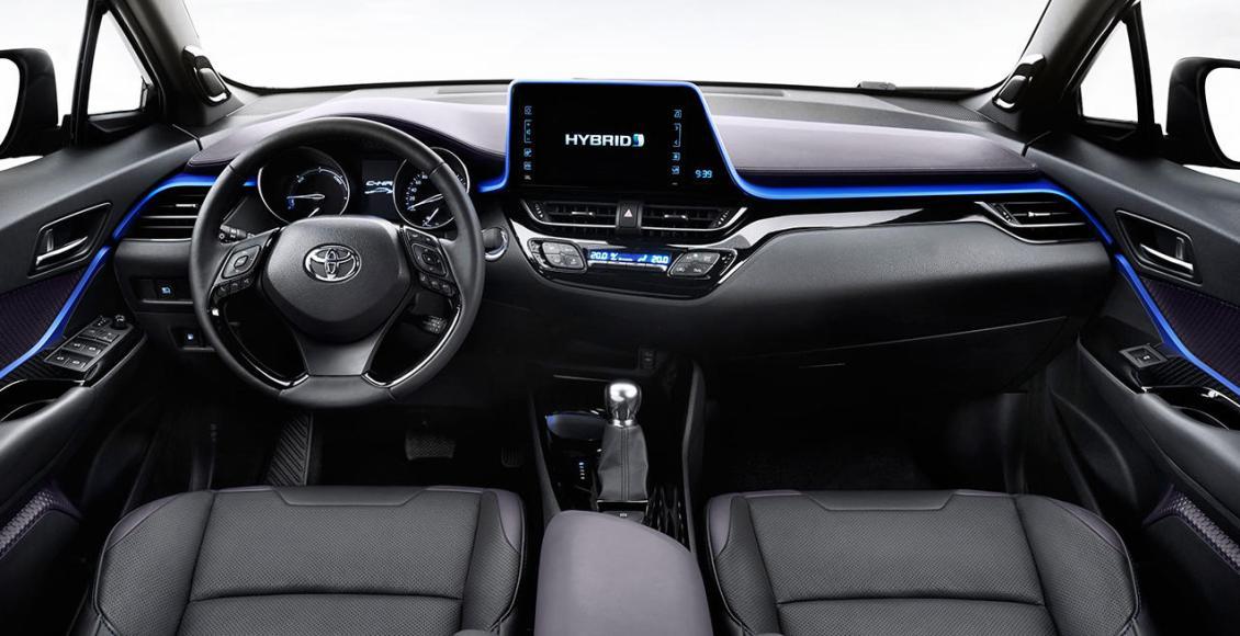 Así es el interior del crossover Toyota C-HR: Una disposición atrevida 7