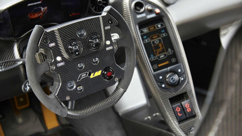 Así es el McLaren P1 LM apto para circular por carretera 2