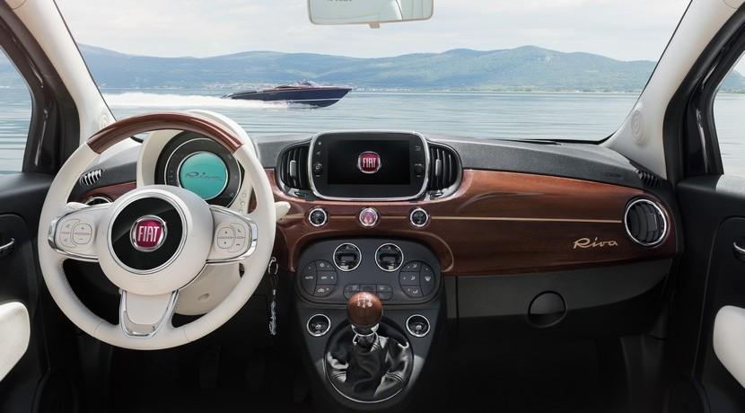 Fiat 500 Riva: Cuando la inspiración náutica se apodera de la ciudad 7