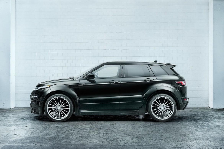 Hamman lleva al gimnasio al Range Rover Evoque: ¡Ahora más llamativo! 1