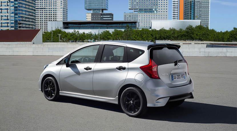 Nissan Note Black Edition: El contraste oscuro también es atractivo 6