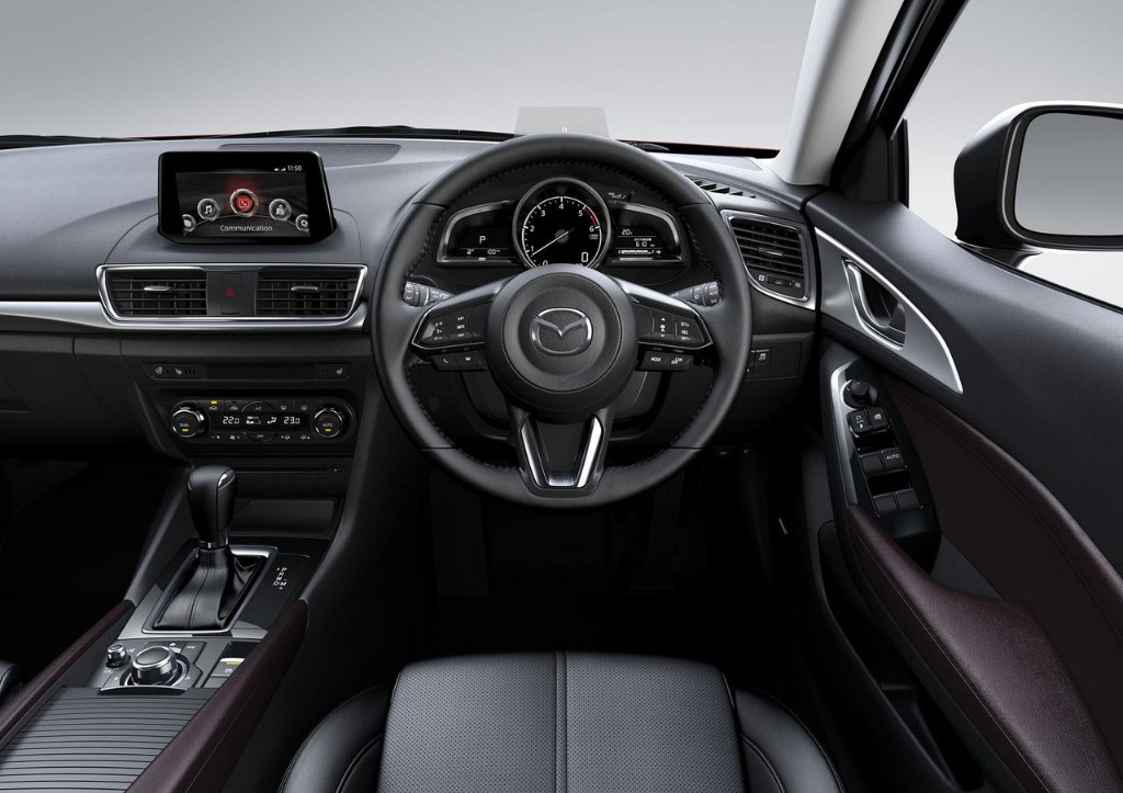 Mazda3 2017: Ahora con Skyactiv-Vehicle Dynamics, mayor control sobre el chasis 16