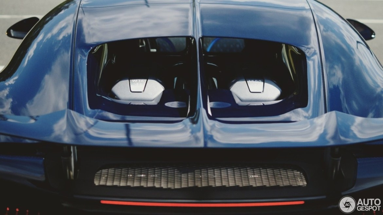 Así es el Bugatti Chiron muy de cerca, cazado en Alemania 2