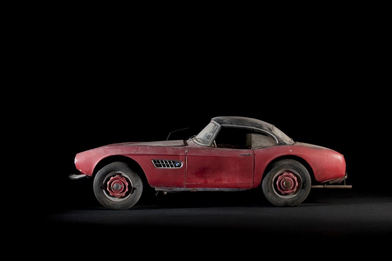 El BMW 507 Roadster de Elvis Presley vuelve a sus días de gloria en Pebble Beach 2