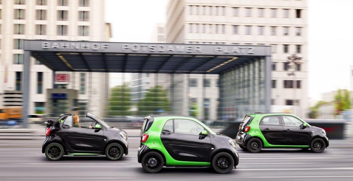 Smart Electric Drive 2017: La nueva gama eléctrica de Smart 80