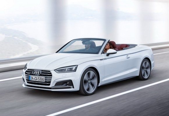 Audi A5 Cabrio y S5 Cabrio 2017: La gama se descapota con la lona por bandera