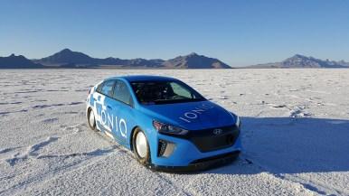 Hyundai Ioniq: Récord FIA de velocidad, porque los híbridos también pueden ser rápidos