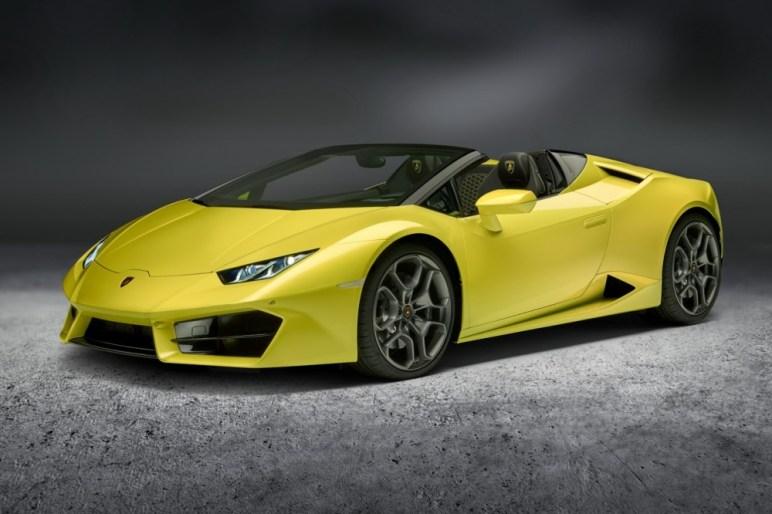 Lamborghini Huracán LP580-2 Spyder: Llega la variante que tiene el cielo como techo