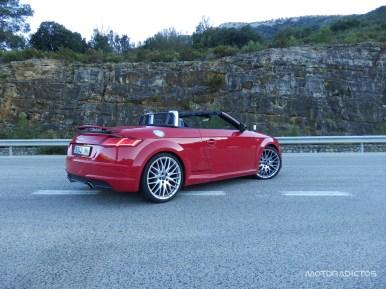 Prueba Audi TT Roadster 2.0 TFSI quattro S Tronic 230 CV: Será difícil que no te arranque una sonrisa...