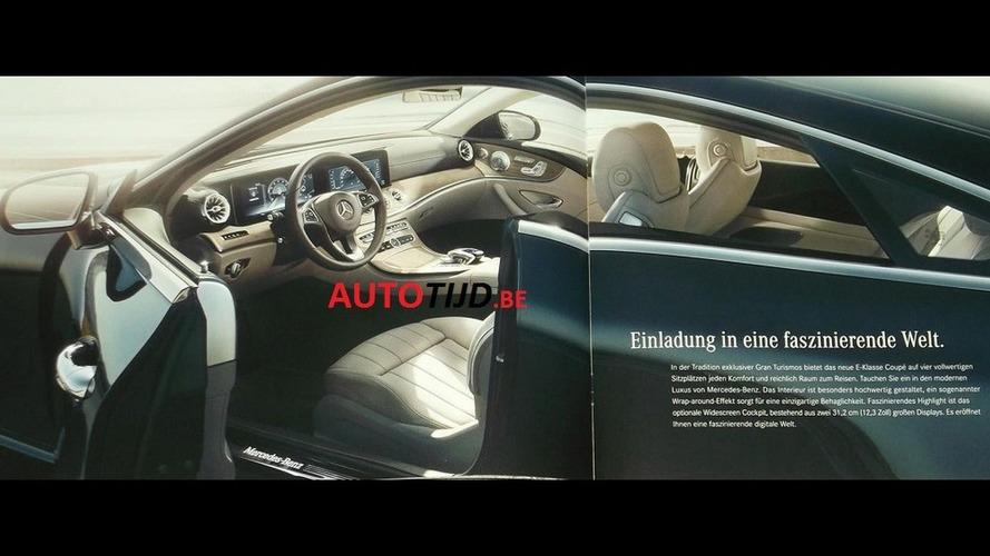 ¡Al descubierto! Nuevo Mercedes Clase E Coupé, filtrado