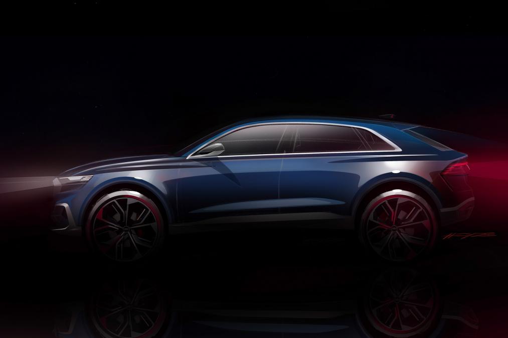 El Audi Q8 se acerca a Detroit, lo veremos en guisa casi de producción