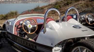 Vanderhall Venice Roadster: El roadster de tres ruedas con un peso de tan sólo 623 kilogramos