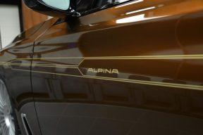 Este Alpina B7 ALLRAD 038 de color marrón es tan llamativo como extravagante