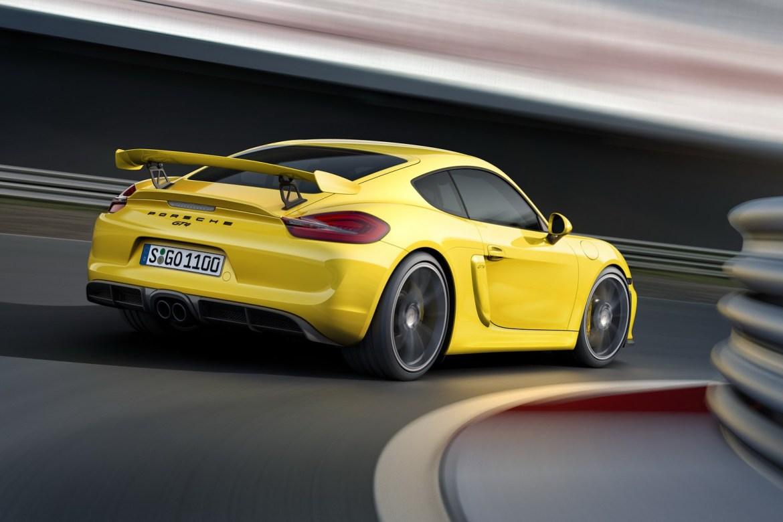 Porsche estaría desarrollando un Cayman GT4 RS: Aún más radical y bruto