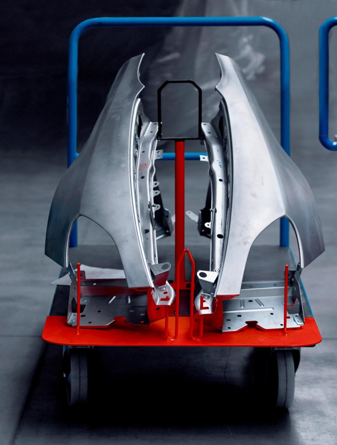 Alpine A120 2017: Así es su chasis de aluminio con el que pondrá las cosas difíciles a sus rivales