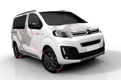 Citroën SpaceTourer 4x4 Ë Concept: Prototipo pensado para aventureros