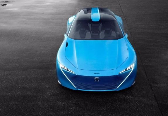 Peugeot Instinct Concept: Un shooting brake híbrido y altamente tecnológico
