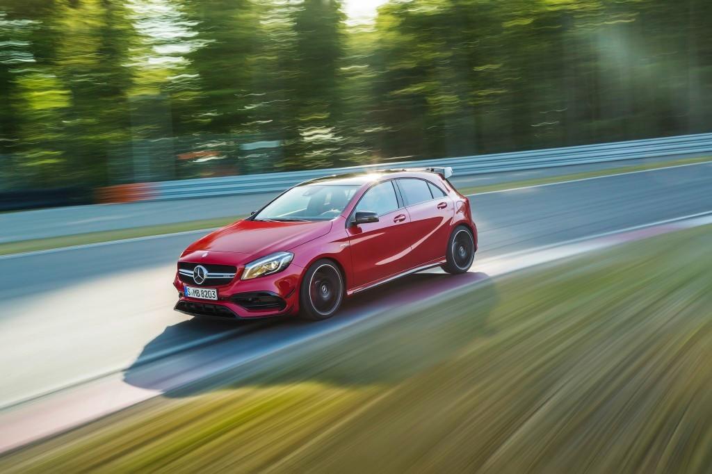 "Mercedes-AMG A 45: modo ""Drift"" y más sorpresas por venir"