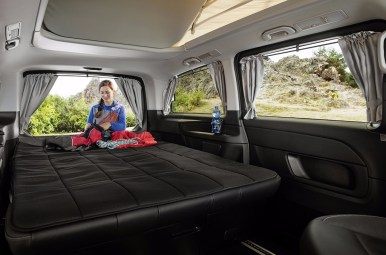 Mercedes Marco Polo Horizon: Cuando dormir en tu vehículo es toda una experiencia