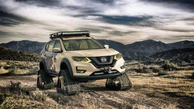 ¿Nissan X-Trail con orugas? Existe y se llama Rogue Trail Warrior Project...