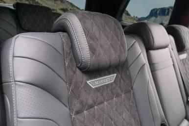 ¿840 CV serán suficientes para ti? Entonces, el Mercedes-AMG GLS 63 Mansory no te defraudará
