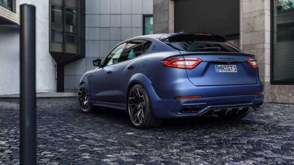 Novitec le dota de músculo al Maserati Levante: Más potencia y un aspecto mucho más pintón