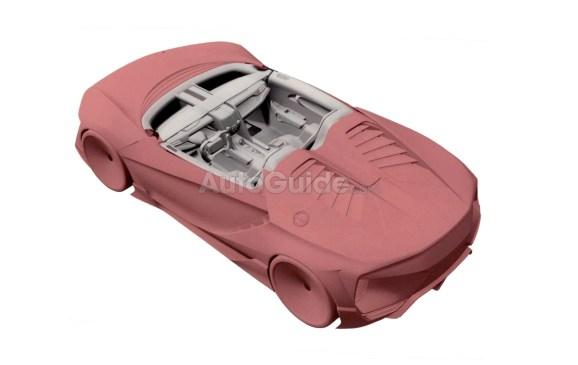 El baby Honda NSX vuelve a la palestra: Así luce en las imágenes de la patente