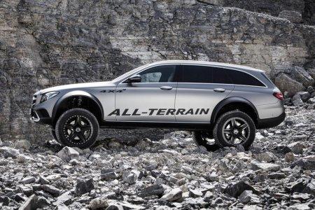 Mercedes Clase E All-Terrain 4x4²: Por si se te quedaba corto fuera del asfalto
