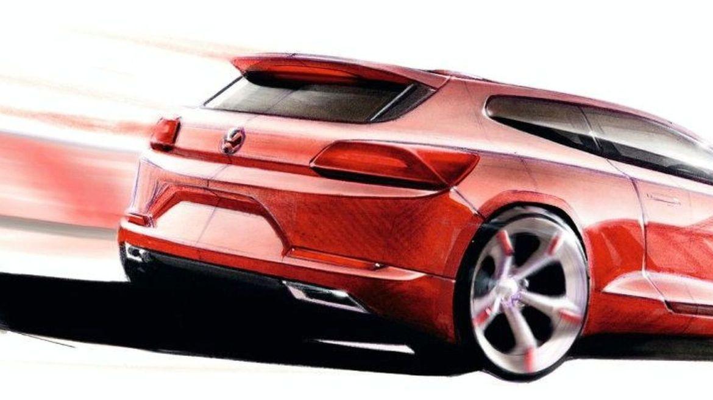 El nuevo Volkswagen Scirocco se transformará en un coupé eléctrico