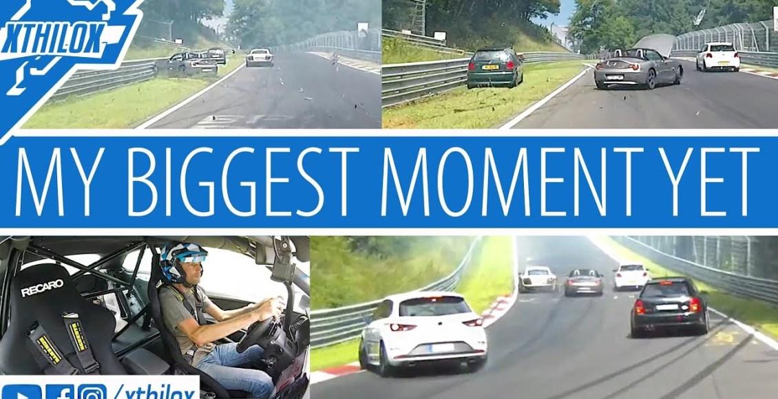 Este accidente grave en Nürburgring ha tenido 10 vehículos implicados, varios heridos… y algunos de ellos españoles