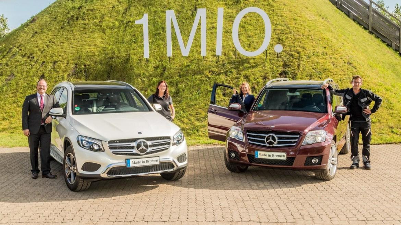 Mercedes ha vendido un millón de unidades del GLK/GLC desde su lanzamiento en 2008