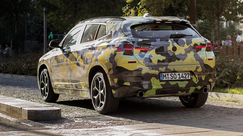El BMW X2 vuelve a salir a la calle... y no pasa desapercibido
