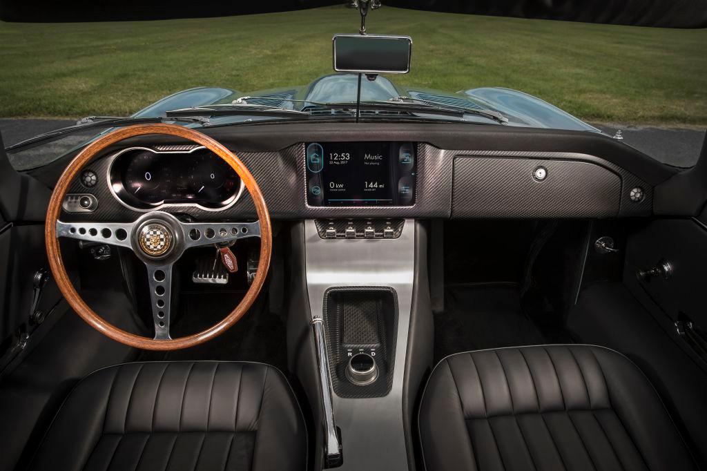 Jaguar E-Type Concept Zero: El modelo clásico recibe un motor eléctrico