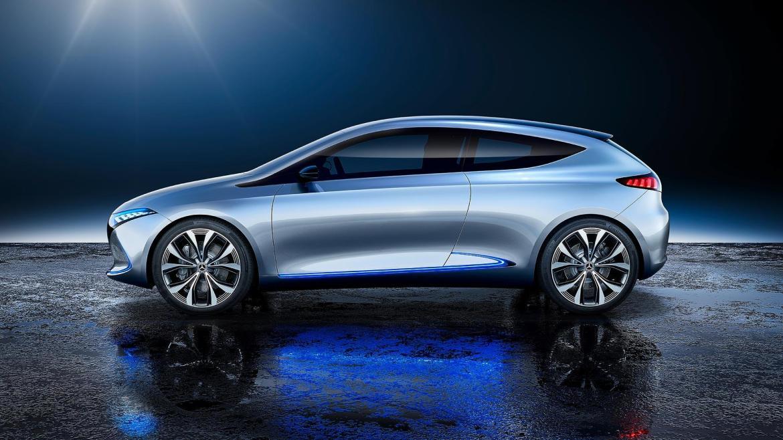 Mercedes EQ A Concept, 268 caballos y una sorpresa por descubrir