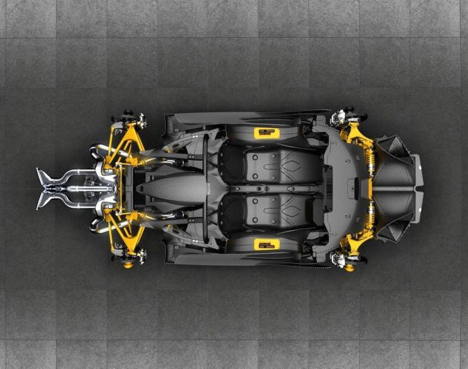 El Apollo Intensa Emozione 2018 llega con un V12 atmosférico y... un aspecto muy futurista por valor de 2,3 millones de euros