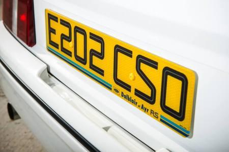 La burbuja sigue viento en popa: Este Ford Sierra Cosworth RS500 superará los 100.000 euros en subasta