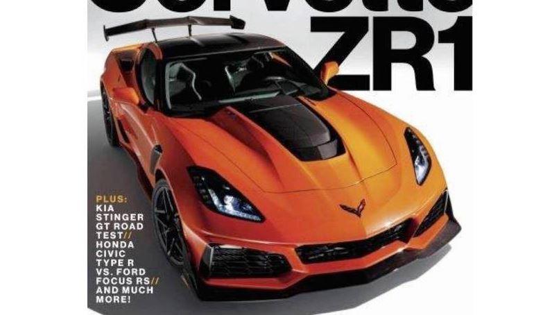 ¡Brutal! Así es el nuevo Chevrolet Corvette ZR1, filtrado al detalle