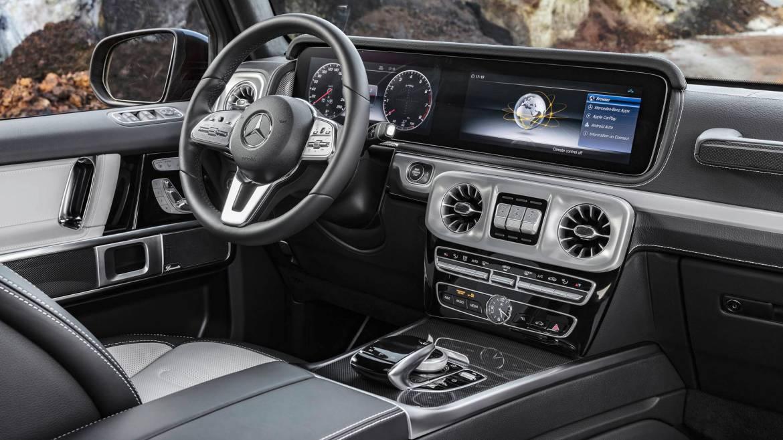 Oficial: este es el interior del nuevo Mercedes Clase G, ¡vaya cambio!