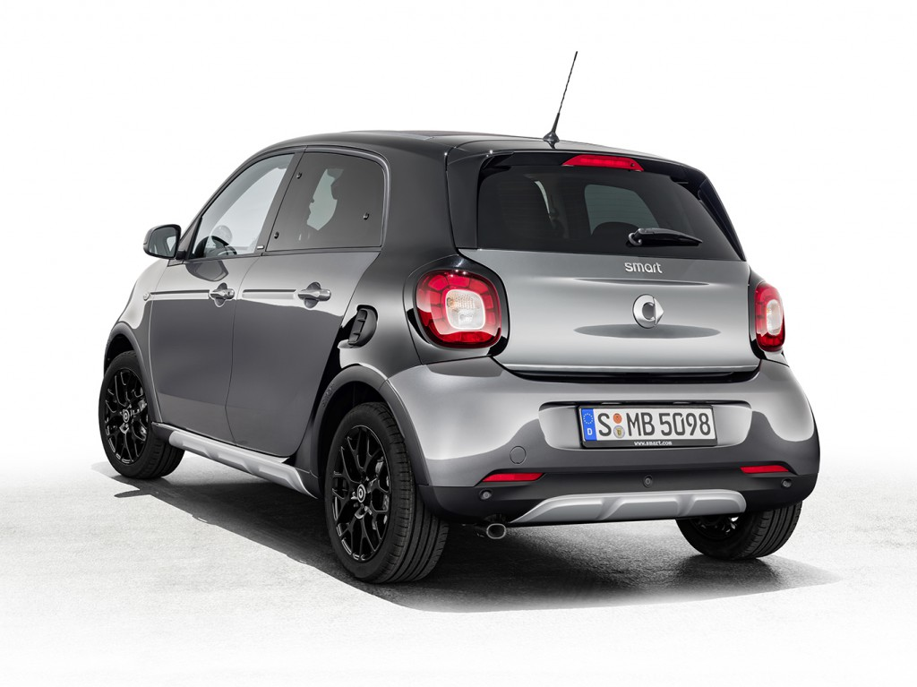 smart forfour crosstown edition: Un aspecto crossover y equipado hasta los topes