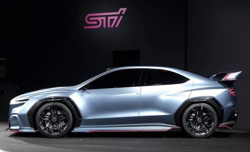 Así es el Subaru Viziv Performance STI: Un adelanto de lo que será el nuevo WRX STI
