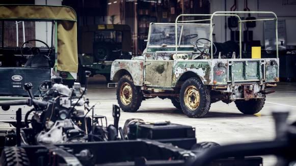JLR Classic restaurará un prototipo del Land Rover Series 1 para celebrar el 70 aniversario de la marca
