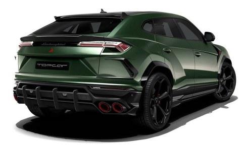Llevando más allá el Lamborghini Urus con TopCar