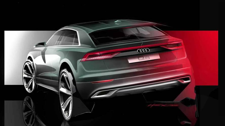 Así es el frontal del nuevo Audi Q8: ¡Tremendo!