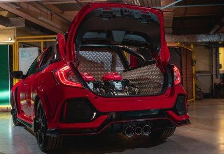 Honda Civic Type R Pick-up: No es una broma, es real (aunque no te lo podrás comprar)