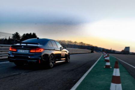 El BMW M5 de AC Schnitzer es más rápido que un Porsche 911 Turbo S en el circuito de Sachsenring