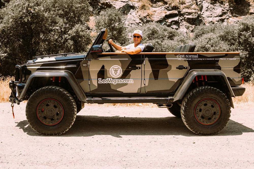 El Mercedes G 500 4×4² sin techo es la última creación de Jon Olsson
